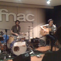 Photo taken at Fnac by maddalena f. on 3/20/2011
