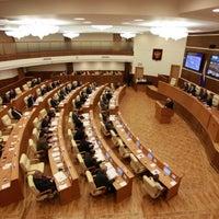 Photo taken at Законодательное Собрание Свердловской Области by Alexander V. on 4/18/2012