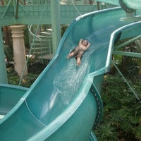 Photo taken at Parc Soleil: Pools and Waterslide by Fred C. on 11/29/2011