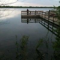 Photo taken at Lake Nokomis Fishing Dock by Mike F. on 5/7/2012