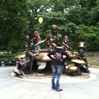 Photo taken at Oktoberfest In Central Park by Virginia T. on 9/17/2011