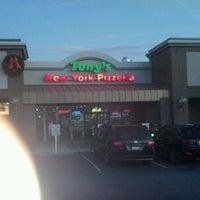 Photo taken at Tony's Pizzeria by Harold H. on 1/4/2012