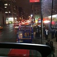 Photo taken at Megabus Bus Stop by Nicole H. on 12/21/2011