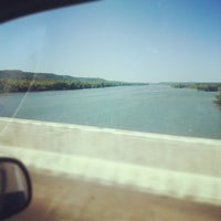 Photo taken at Tennessee River Bridge by Lisa S. on 5/22/2012