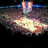 Photo taken at James H. Hilton Coliseum by Deb P. on 2/1/2012