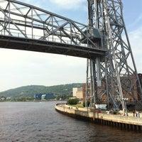 Photo taken at Duluth Lift Bridge by Bob W. on 7/15/2012
