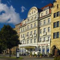 Photo taken at Hotel Fürstenhof by Christian K. on 1/3/2012