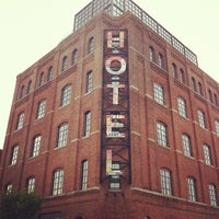 Photo taken at Wythe Hotel by Chris H. on 5/27/2012