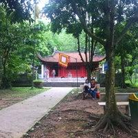 Photo taken at Đền Sóc by Khanh N. on 6/3/2012