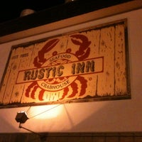 Photo taken at Rustic Inn Seafood Crabhouse by Jorge H. on 9/2/2012