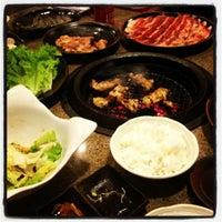 Photo taken at Tajimaya Charcoal Grill by Joey R. on 8/31/2012