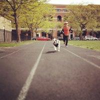 Photo taken at Chase Park Track by Jeremy J. on 4/13/2012