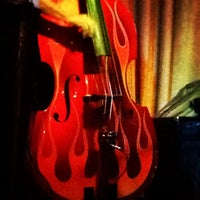 Photo taken at Hip Kitty Jazz & Fondue by LBar 5. on 5/6/2012