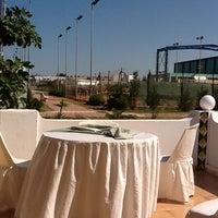 Photo taken at Tennis Club De L'Avenir Sportif De La Marsa by nash m. on 6/2/2012