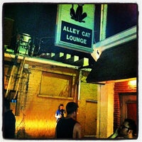 Photo taken at Alley Cat Lounge by Carter S. on 5/4/2012