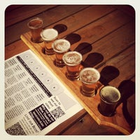 Photo taken at Bluetongue Brewery Cafe by Liberty on 7/29/2012