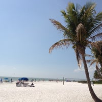 Photo taken at Fort Myers Beach by Brian B. on 3/10/2012