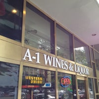Photo taken at A-1 Wines & Liquors by Carlos B. on 5/4/2012
