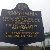 Photo taken at New York - Pennsylvania State Line by Scott M. on 5/15/2014