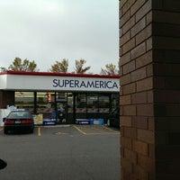 Photo taken at SuperAmerica by Joshua S. on 10/6/2013