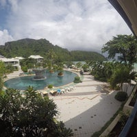 Photo taken at Phi Phi Island Cabana Hotel by Noparut W. on 8/2/2016