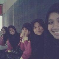 Photo taken at Sekolah Menengah Kebangsaan Padang Saujana by Tyra S. on 10/29/2012