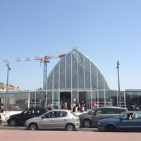 Photo taken at Gare SNCF de Montpellier Saint-Roch by Marquicos d. on 7/27/2013