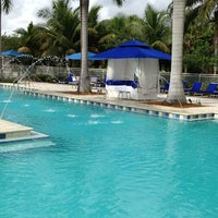 Photo taken at HYATT Miami at the Blue by Liliana P. on 7/6/2013