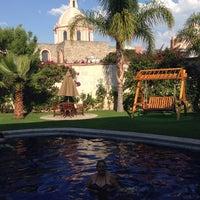 Photo taken at Posada Del Virrey by Maira T. on 5/10/2014
