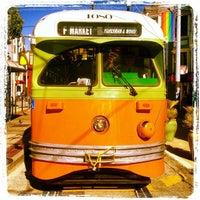 Photo taken at MUNI Bus Stop - Castro & 17th by lynn f. on 8/31/2013