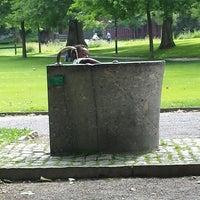 Photo taken at Stadtpark by Meltem E. on 6/14/2014