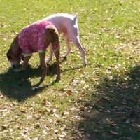 Photo taken at West Dog Park by Cara D. on 12/28/2014