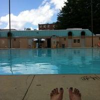 Photo taken at Upshur Swimming Pool by Barbara W. on 7/4/2013