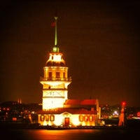 Photo taken at Maiden's Tower by Ibrahim A. on 7/9/2013