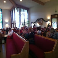 Photo taken at Mt. Tamalpais United Methodist Church by Steven W. on 12/25/2012