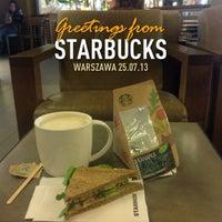 Photo taken at Starbucks by Bolek A G A. on 7/25/2013