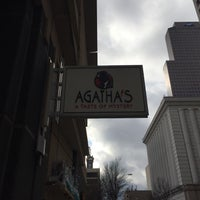 Photo taken at Agatha's: A Taste Of Mystery by Tracie C. on 12/11/2015