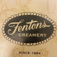 Photo taken at Fentons Creamery & Restaurant by Mitchie F. on 6/9/2013