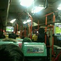 Photo taken at [수원/시내]4-1번(하갈동~조원동)([Suwon/Urban]Bus #4-1) by Сергей Ш. on 1/26/2014