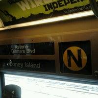Photo taken at MTA Subway - N Train by Daniel S. on 11/21/2012