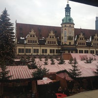 Photo taken at Leipziger Weihnachtsmarkt by Claudia S. on 12/15/2012