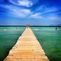 Photo taken at Muro Beach by Eva S. on 9/7/2013