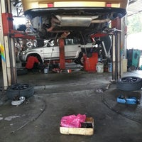 Photo taken at Lee Auto Services by Encikk A. on 7/19/2014