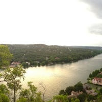Photo taken at Covert Park at Mt. Bonnell by Joe H. on 7/17/2013