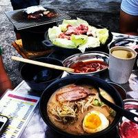 Photo taken at Gerai Makanan Japanese BBQ by Derrick L. on 6/15/2013