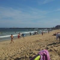 Photo taken at Manasquan Beach by Mikey V. on 7/27/2013