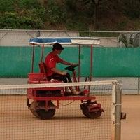 Photo taken at 반포종합운동장 테니스코트 by Chung Min P. on 8/5/2013