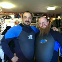 Photo taken at Cowboy Surf Shop by Wolfgang F. on 10/6/2014
