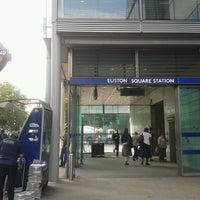 Photo taken at Euston Square London Underground Station by Faye B. on 7/22/2013