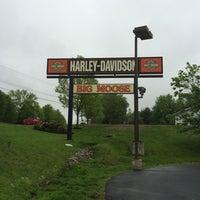 Photo taken at Big Moose Harley-Davidson by Neal E. on 5/27/2014